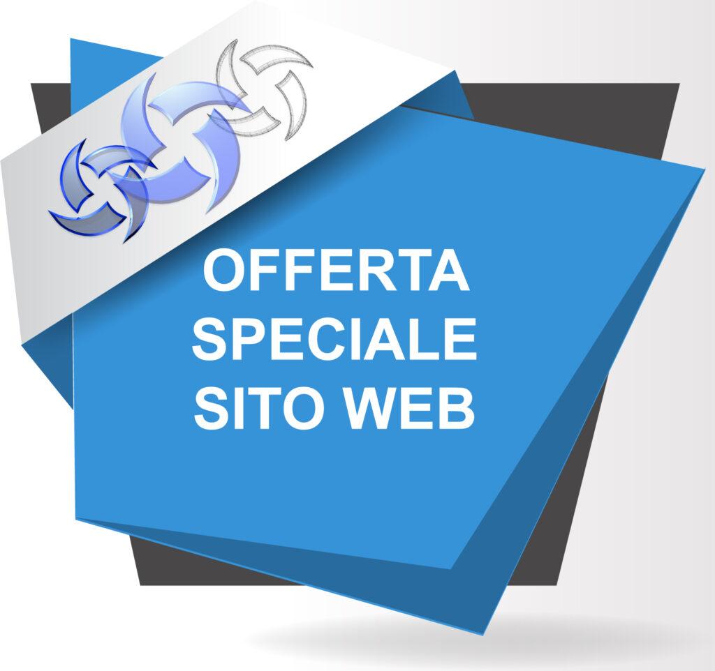 Sconto creazione sito web: offerta speciale